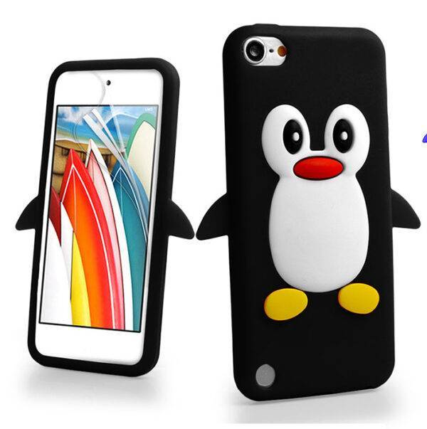 Zchiko Penguin 3d Cartoon Apple Ipod Touch 7 7th Generation Ipod Touch 6 6th Generation Touch 5 5th Generation Cover Case Black Samzon Store